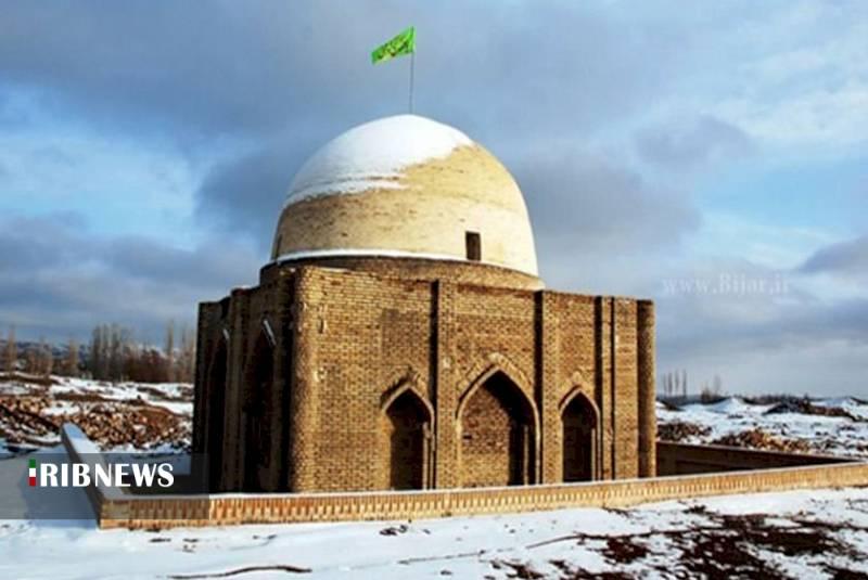 مرمت بنای تاریخی امامزاده عقیل حسن آباد یاسوکند شهرستان بیجار
